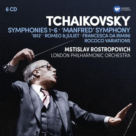 世紀典藏 盒 ~ 柴可夫斯基:六首交響曲、管弦樂曲  凡格羅夫〈小提琴家〉羅斯托波維奇〈大