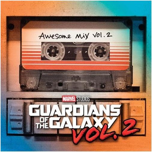 電影原聲帶 / 星際異攻隊2 (CD)(OST / Guardians of the Galaxy Vol. 2: Awesome Mix Vol. 2)