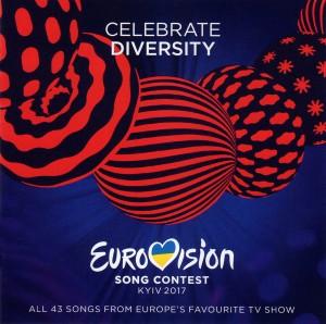 歐洲歌唱大賽2017特輯  2CD