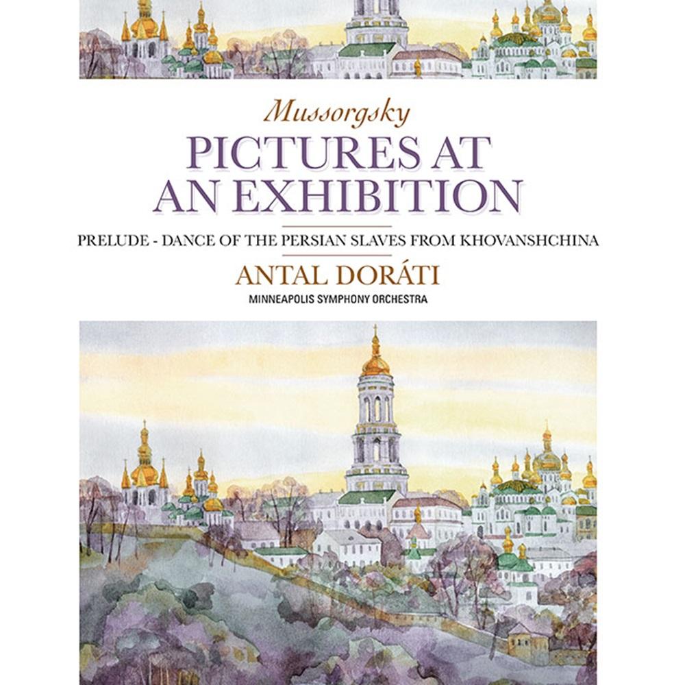 穆索斯基:展覽會之畫 拉威爾改編之管弦樂版  、 赫凡司奇納前奏曲  杜拉第 指揮 、明尼