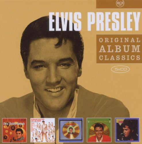 貓王 / 嚴選名盤套裝 (5CD)(Elvis Presley / Original Album Classics (5CD))