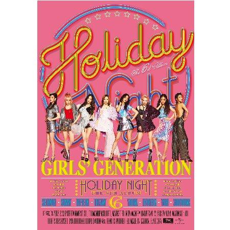 少女時代 / 第六張正規專輯Holiday Night 台灣特別盤Holiday Ver. (CD+DVD)
