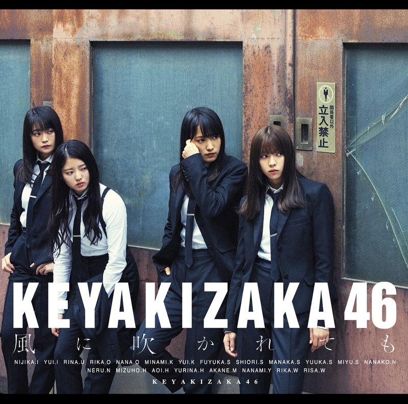 欅坂46 / 就算風吹【Type B CD+DVD】(Keyakizaka46 / Kazeni Fukaretemo (Type B))