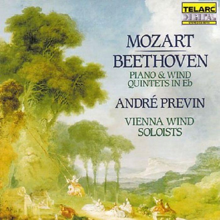 莫札特、貝多芬:鋼琴與管樂五重奏 普烈文 鋼琴、維也納木管獨奏家