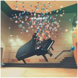大塚 愛 (Otsuka Ai) / aio piano (CD) (限量海報版)