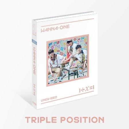 WANNA ONE / 1÷X=1 (UNDIVIDED)【Triple Position小分隊版-台灣獨占贈品盤】