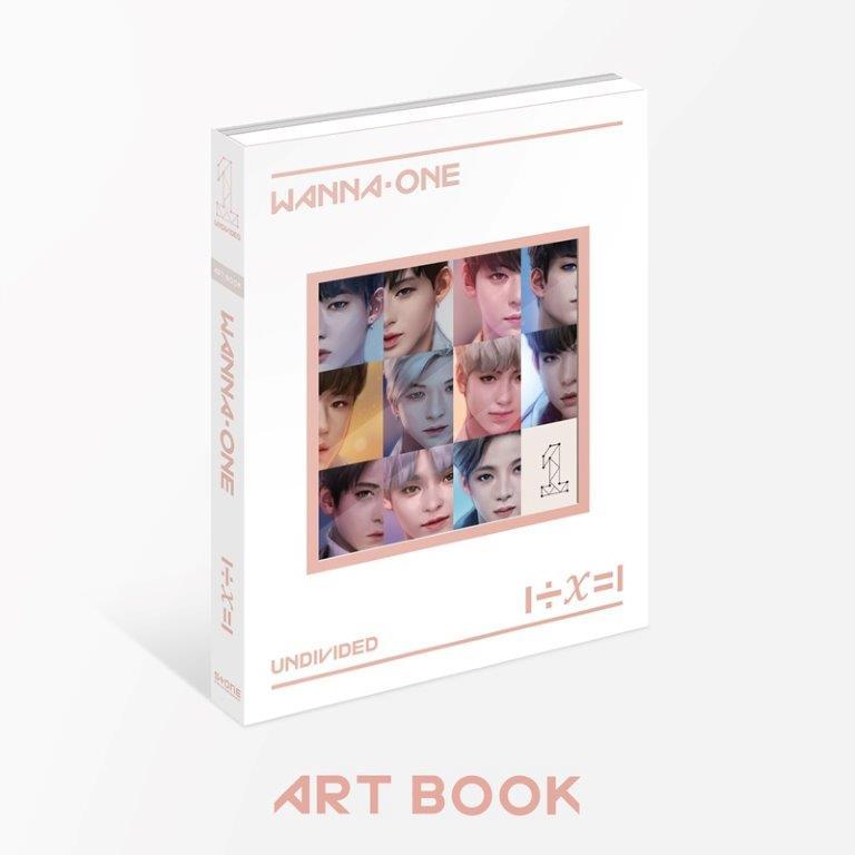 WANNA ONE / 1÷X=1 (UNDIVIDED) 【Art Book全員漫畫版-台灣獨占贈品盤】(CD)