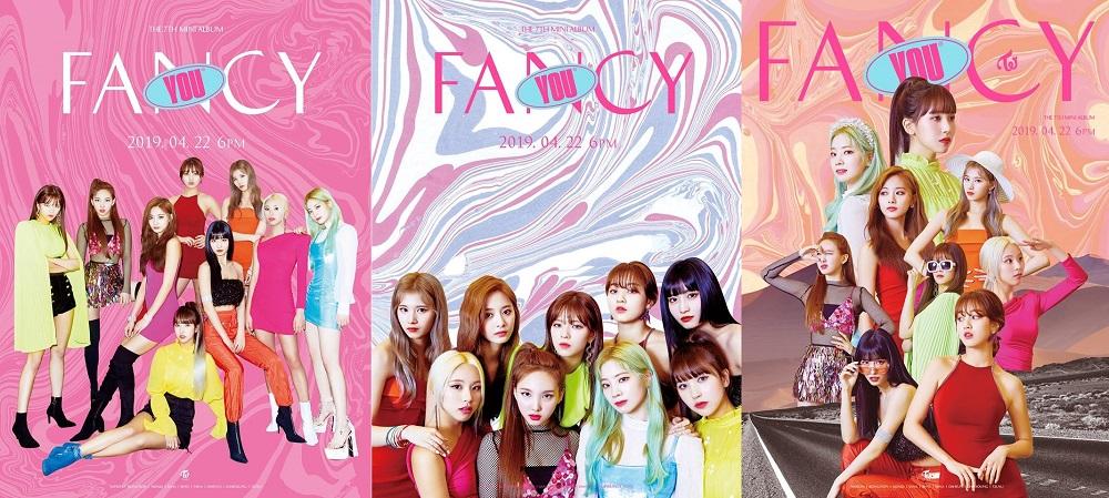 TWICE - FANCY YOU [THE 7TH MINI ALBUM] 迷你七輯 [三版套組] (韓國進口版)