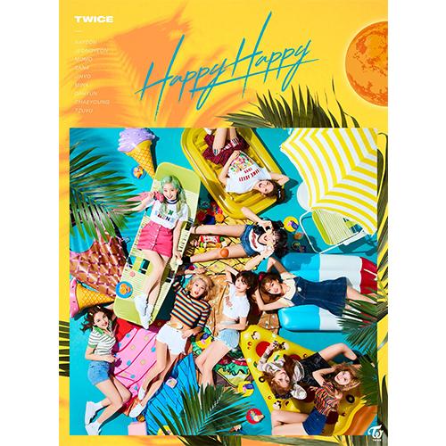 TWICE 日版 Happy Happy 第四張單曲 初回限定盤A (日本進口版)