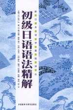 初級日語語法精解