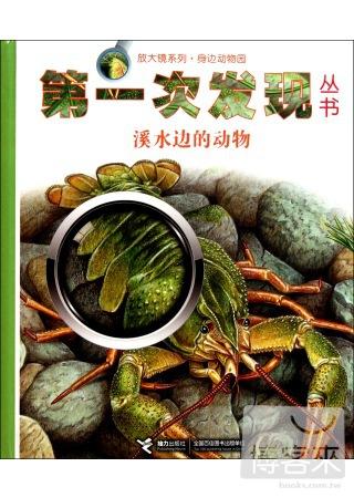 第一次發現叢書.放大鏡系列:身邊動物園.溪水邊的動物