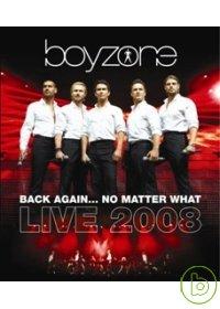男孩特區合唱團  回到你身邊2008世界巡迴演唱會 2DVD