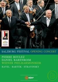 2008薩爾茲堡開幕音樂會 布列茲與巴倫波因之夜 = 2008 Salzburg Festival : opening concert /