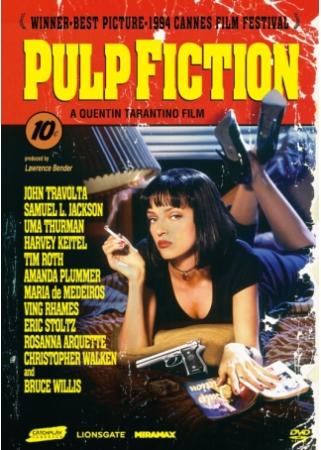 黑色追緝令 DVD(Pulp Fiction DVD)