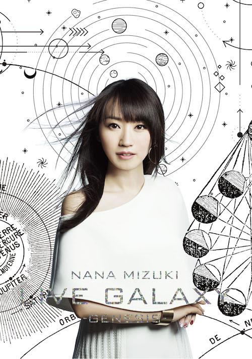 水樹奈奈 / LIVE GALAXY-GENESIS- (3DVD)