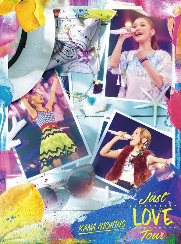 西野加奈 / 就是愛巡迴演唱會【初回盤】(2DVD)(Nishino Kana / Just LOVE Tour (2DVD))