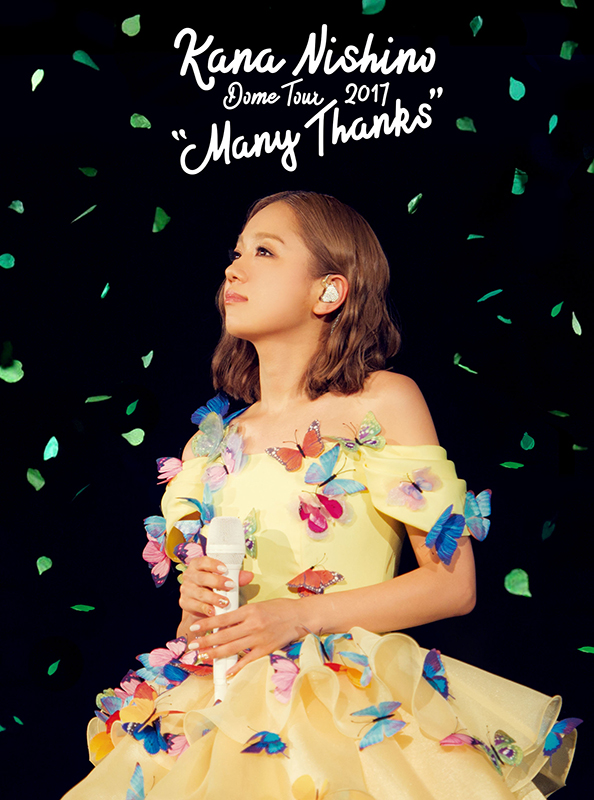 "西野加奈 / 2017巨蛋巡演 ""Many Thanks""【2DVD寫真初回盤】(Nishino Kana / Dome Tour 2017 ""Many Thanks"")"
