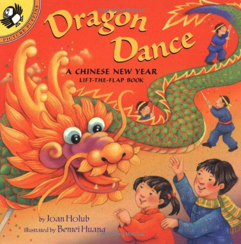 Dragon dance : a Chinese New Year lift-the-flap book 封面
