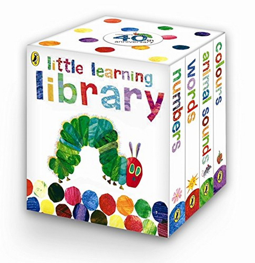 Little Learning Library - Learn with The Very Hungry Caterpillar