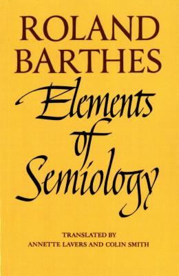 Elements of semiology;