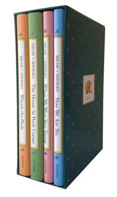 Pooh's Library: Winnie-The-Pooh, the House at Pooh Corner, When We Were Very Young, Now We Are Six
