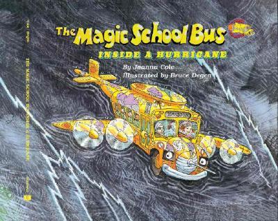 The magic school bus inside a hurricane 封面