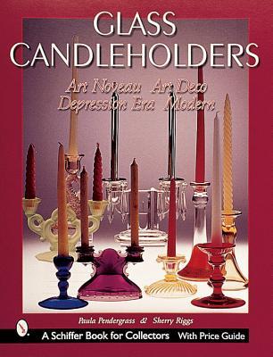 Glass Candle Holders: Art Nouveau Art Deco De