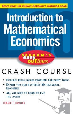 Schaum's Easy Outline Mathematical Economics
