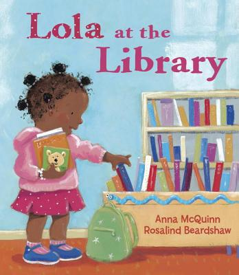 Lola at the library 封面