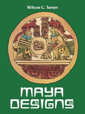 Maya Designs Coloring Book
