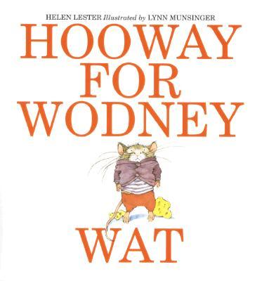 Hooway for Wodney Wat 封面