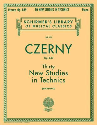 Thirty New Studies in Technics Opus 849: Pian