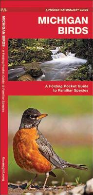 Michigan Birds: A Folding Pocket Guide to Familiar Species