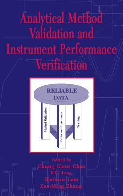 Analytical method validation and instrument performance verification /