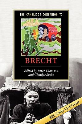 The Cambridge companion to Brecht