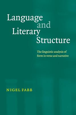 Language and Literary Structure: The Linguist