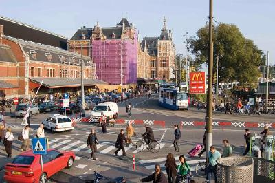 Along Amsterdam's Waterfront: Exploring the A
