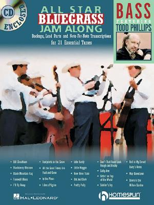 All~Star Bluegrass Jam~Along: For Bass : Back