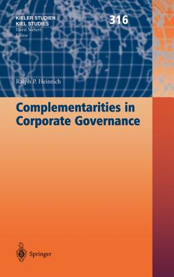 Complementarities in Corporate Governance