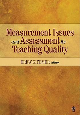 Measurement issues and assessment for teaching quality /