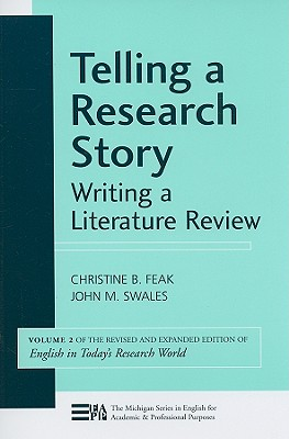 Telling a research story : writing a literature review /