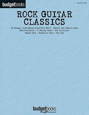 Rock Guitar Classics ~ Budget Book