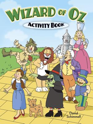 Wizard of Oz Activity Book