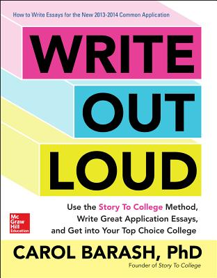 Write Out Loud: Use the Story To College Meth