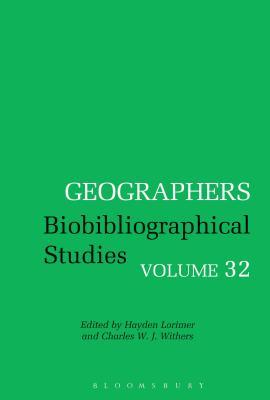 Geographers Biobibliographical Studies