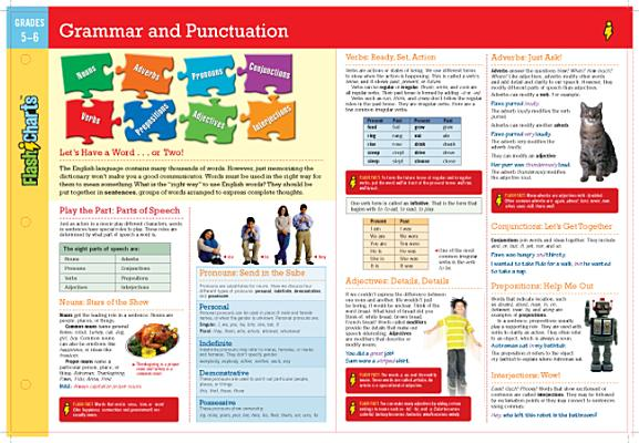 Flashcharts Grammar and Punctuation Grades 3