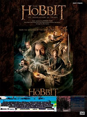 The Hobbit: The Desolation of Smaug: Easy Piano