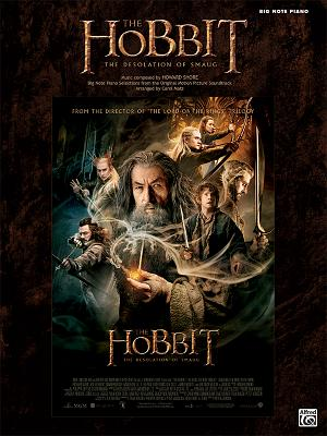 The Hobbit: The Desolation of Smaug - Big Note Piano
