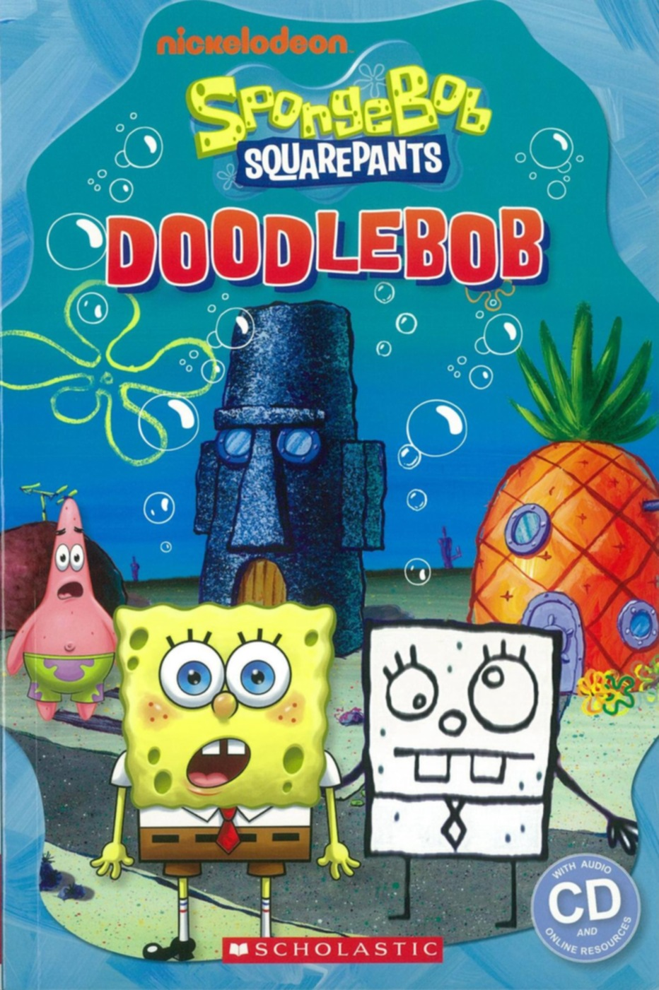 Scholastic Popcorn Readers Level 3: SpongeBob Squaarepants: DoodleBob with CD