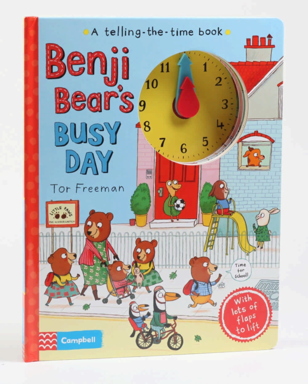 Benji Bear'S Busy Day: A Telling-The-Time Book